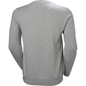 Helly Hansen HH Logo Suéter de cuello redondo Hombre, grey melange